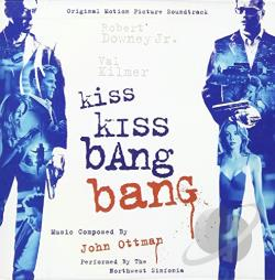 Original Soundtrack / Ottman, John - Kiss Kiss Bang Bang CD Cover Art