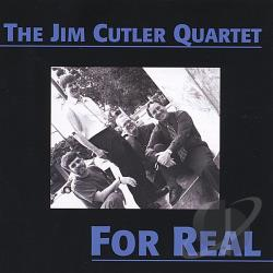 Cutler, Jim - For Real CD Cover Art