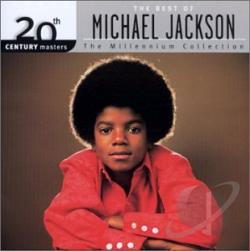 Jackson, Michael - 20th Century Masters - The Millennium Collection: The Best of Michael Jackson CD Cover Art