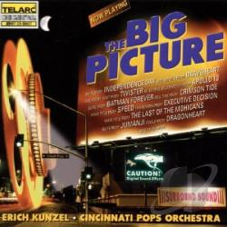 Cincinnati Pops Orchestra / Kunzel, Erich - Big Picture CD Cover Art
