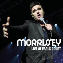 Morrissey - Live at Earls Court CD Cover Art