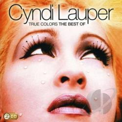 Lauper, Cyndi - True Colors: Best of Cyndi Lauper CD Cover Art