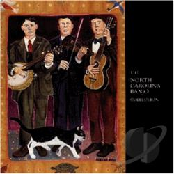North Carolina Banjo Collection CD Cover Art