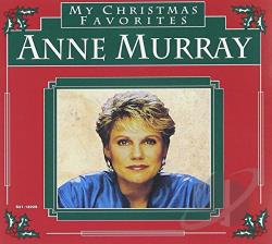 Murray, Anne - My Christmas Favorites CD Cover Art