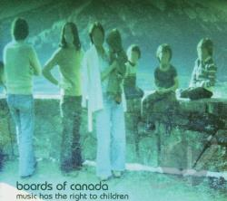 Boards Of Canada - Music Has the Right to Children CD Cover Art