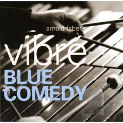 Arnold Faber - Blue Comedy CD Cover Art