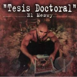 El Meswy - Tesis Doctoral CD Cover Art