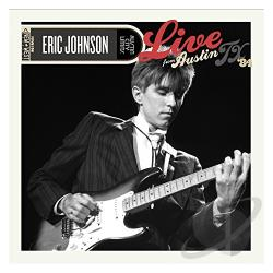Johnson, Eric - Live from Austin, TX '84 CD Cover Art
