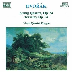 Dvorak / Vlach Quartet Prague - Dvorak: String Quartet / Terzetto CD Cover Art