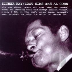 Sims, Zoot - Either Way CD Cover Art
