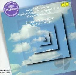 Berlin Philharmonic / Karajan / Schoenberg - Schoenberg: Transfigured Night; Pelleas and Melisande CD Cover Art