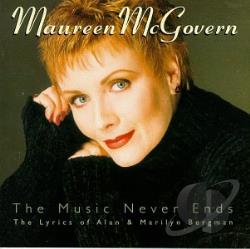 McGovern, Maureen - Music Never Ends CD Cover Art