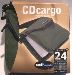 CD Cargo Playercase - 24 CD's/Player Cover Art