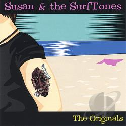 Susan & The Surftones - Originals CD Cover Art