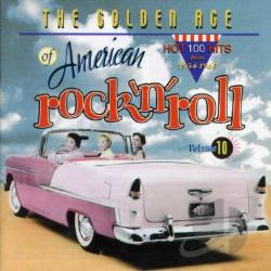 Golden Age of American Rock 'n' Roll, Vol. 10 CD Cover Art