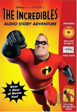Disney Read-Along - Incredibles Storyteller CD Cover Art