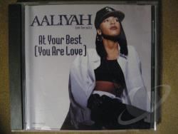 Aaliyah - At Your Best CD Cover Art