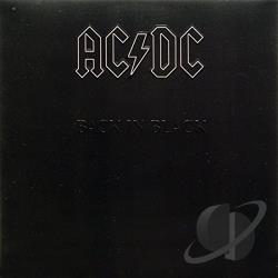 AC/DC - Back In Black LP Cover Art