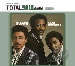 O'Jays - Back Stabbers CD Cover Art