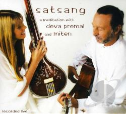Premal, Deva - Satsang: A Meditation in Song and Silence CD Cover Art