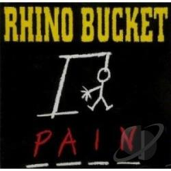 Rhino Bucket - Pain CD Cover Art