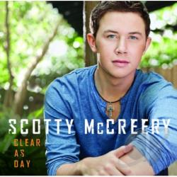 McCreery, Scotty - Clear as Day CD Cover Art