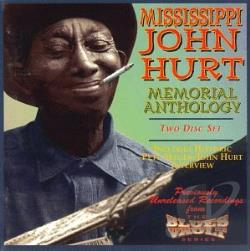 Hurt, Mississippi John - Memorial Anthology CD Cover Art
