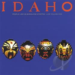 Idaho - People Like Us Should Be Stopped CD Cover Art