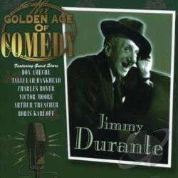 Durante, Jimmy - Golden Age of Comedy CD Cover Art
