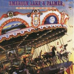 Emerson, Lake, And Palmer - Black Moon CD Cover Art
