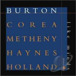Burton, Gary / Corea, Chick / Haynes, Roy / Metheny, Pat - Like Minds CD Cover Art
