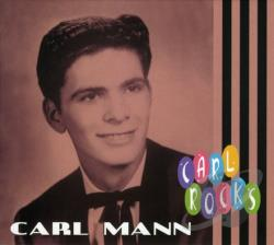 Mann, Carl - Carl Rocks CD Cover Art