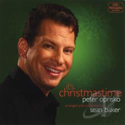 Baker, Sean / Oprisko, Peter - It's Christmas Time CD Cover Art
