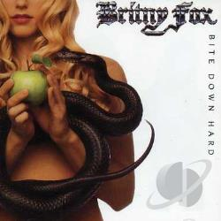 Britny Fox - Bite Down Hard CD Cover Art