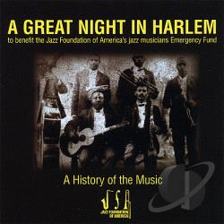 Great Night In Harlem CD Cover Art