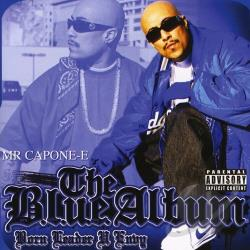 Mr. Capone-E - Blue Album CD Cover Art