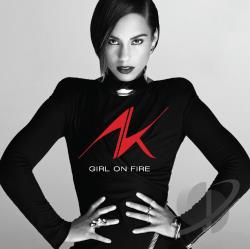 Keys, Alicia - Girl on Fire CD Cover Art