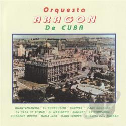 Aragon, Orquesta - Orquesta Aragon de Cuba CD Cover Art