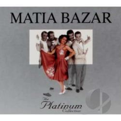 Bazar, Matia - Platinum Collection CD Cover Art