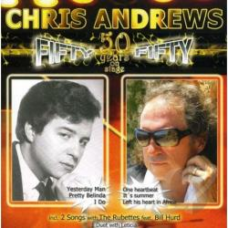Andrews, Chris - Fifty Fifty-50 Years O CD Cover Art