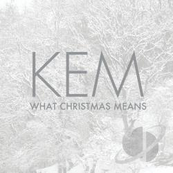 Kem - What Christmas Means CD Cover Art