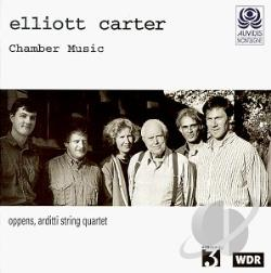 Carter - Carter: Chamber Music / Oppens, Arditti String Quartet CD Cover Art