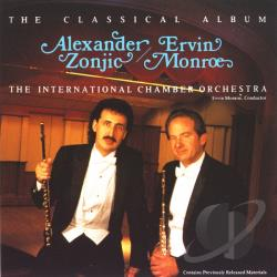 Zonjic, Alexander - Alexander Zonjic & Ervin Monroe: The Classical Album CD Cover Art