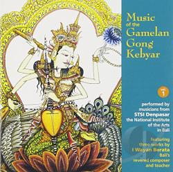 Music of Gamelan Gong Keybar, Vol. 1 CD Cover Art