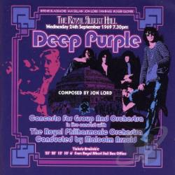 Deep Purple - Concerto For Group & Orchestra CD Cover Art