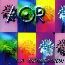 Aor - L.A. Concession CD Cover Art