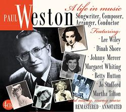 Weston, Paul - Life in Music: Songwriter, Composer, Arranger CD Cover Art