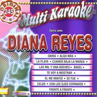 Reyes, Diana - Exitos-Multi Karaoke CD Cover Art