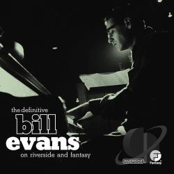 Evans, Bill - Definitive Bill Evans on Riverside and Fantasy CD Cover Art