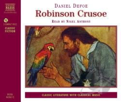 Anthony / Defoe - Robinson Crusoe CD Cover Art